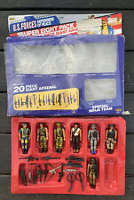 VINTAGE REMCO US FORCES Special Ninja Team Arsenal 1986 7 Figures Weapons