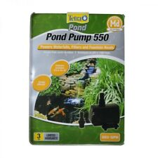 Tetra Water Garden Pump 550 for Waterfalls, Filters, and Fountain Heads Black 55