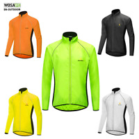 Cycling Coat MTB Bike Wind Jacket Outdoor Sport Windproof Reflective Jersey Men
