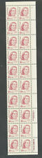 2175a Red Cloud Overall Tagged wide untagged margin NO FOLDS Plate Strip 20 NH