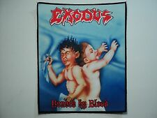 EXODUS BONDED BY BLOOD    SUBLIMATED BACK PATCH