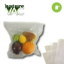 NatureVAC 15 in. x 20 in. Precut Vacuum Seal Bags All Clear 50 Pack