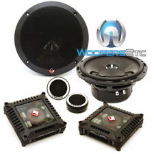 "ROCKFORD FOSGATE POWER T165-S 6.5"" COMPONENT SPEAKERS TWEETERS CROSSOVERS NEW"