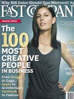 Fast Company Soraya Darabi 100 Most Creative June 2010 100819nonr2