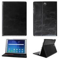 """Leder Cover Samsung Galaxy Tab S2 9.7"""" Schutz Hülle Tasche Tablet Case schwarz"""