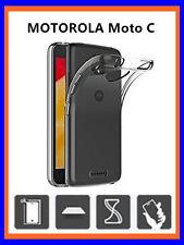 "COVER CUSTODIA  TRASPARENTE TPU GEL SILICONE PER MOTOROLA Moto C 5"""