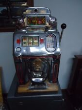 Antique Slot Machine 5¢ O.D. Jennings 1946 Standard Chief
