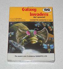 Cassetta GIG Gamate GALAXY INVADERS Api spaziali NUOVO Console C1-007