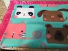 Handmade fleece pet blanket, dogs and cats!