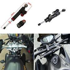 Black Steering Damper Stabilizer For Honda Suzuki Kawasaki Yamaha Ducati Buell