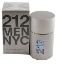 212 NYC Carolina Herrera 1.6 1.7 oz 50 ml EDT Men Spray New In Box