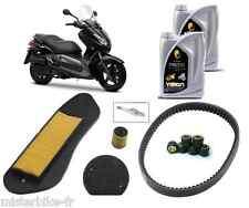 Pack révision Vidange Premium Courroie Filtre Huile Bougie  YAMAHA X-Max 125