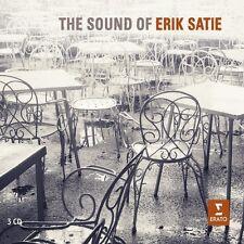 Alexandre/Ciccolini, Aldo Tharaud-The Sound of Erik Satie 3 CD NUOVO questa, Erik