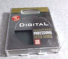 Digital Professional Series 58mm CIRCULAR POLARIZER FILTER Pro CPL 58 mm PL-CIR