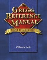 The Gregg Reference Manual Hardcover William A. Sabin