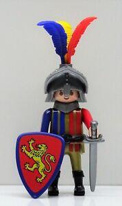 Lion Knights Playmobil To King Richard England Tournament Helmet Crusader - RAR
