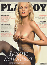 Playboy (D) 10 Oktober 2008 IVONNE SCHÖNHERR Alena Gerber Sammlung