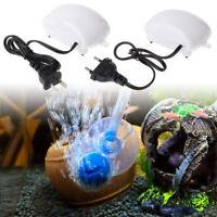Super Low Noise Aquarium Fish Tank Mini Air Compressor Oxygen Pump Accessories
