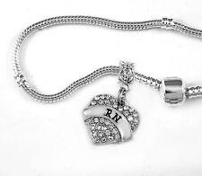 RN Bracelet RN bangle RN jewelry RN gift nurse present RN best keepsake Nursing