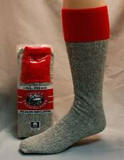 Valley Trading Post Made In USA Cotton Blend Tube Socks Size 10-14 Six Pairs