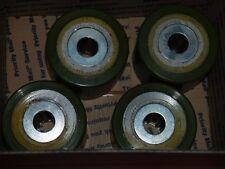"""Very Heavy Duty Neoprene (Inner Roller Bearing)4"""" Diameter Style Roller Casters!"""