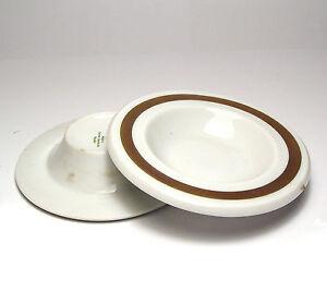 2x Mini-Teller For Biscuits/Ashtray, Palast Der Republic, Pdr Gold Rim