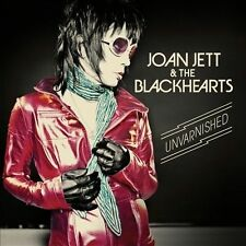 Joan Jett/Joan Jett & the Blackhearts - Unvarnished (CD, 2013) DJ Promo Copy New