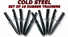 Cold Steel Rubber Training Practice Knife Knives 10 Set