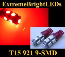 TWO RED 9-SMD LED High Mount Stop 3rd Brake Lights #91A