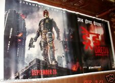 "DREDD 3D (2012)  6 SIX SHEET GIANT POSTER 52"" X 106"""
