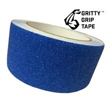 """Core Prodigy Gritty Grip Tape - Anti Slip Traction Tape (2"""" x 196"""") Blue"""