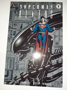 DC Superman Aliens Vol 1 TPB New Unread 8.5 FREE SHIPPING