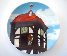 Dietemann Eschwege Collectors Porcelain Wall Plate Altenkunstadt Germany Clock
