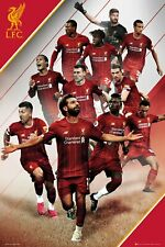 LIVERPOOL FC Poster - Players 19/20 - New Liverpool Football poster SP1570