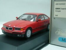 WOW EXTREMELY RARE BMW E36 1992 325i 24V Coupe Red 1:43 Minichamps-323/M3/M5/GTR