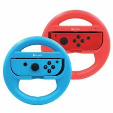 Ematic Nintendo Switch Steering Wheel 2-Pack Red & Blue
