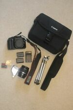 Canon EOS 30D 8.2MP Digital SLR Camera, EF-S 18-55mm Lens, and Accessories