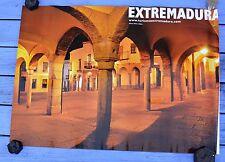 Affiche Extrémadure, Extremadura, Zafra, Plaza Chica, 68 x 48 cm, parfait état