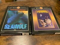 Lot Of 2 IBM CD-ROM CLASSICS: SSN-21 Seawolf & Wing Commander Privateer PC Games