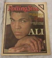 VINTAGE ROLLING STONE MAGAZINE MAY 4TH 1978 ISSUE 264 MUHAMMAD ALI