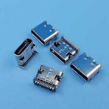 10pcs Usb 31 Type C Female 16pin 4 Legs Smt Charging Port Pcb Socket Connector