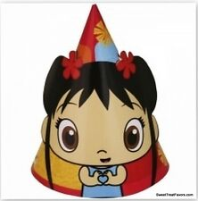 NI HAO KAI-LAN Party Supplies HATS Favors Birthday Decoration Kailan Girl x8 NEW