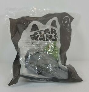 2021 McDonald's Happy Meal, STAR WARS #3 Yoda,toy,action Figures,new