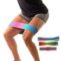 Latex Slip Cotton Hip Resistance Bands Elastic Bands Exercise for Thigh Hips