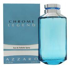 AZZARO CHROME LEGEND EAU DE TOILETTE EDT 125ML SPRAY - MEN'S FOR HIM. NEW