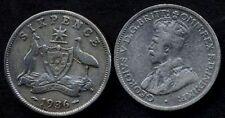 AUSTRALIA 6 Pence 1936 AG