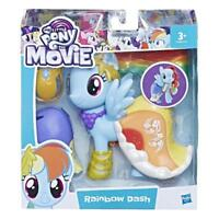 MY LITTLE PONY SNAP ON FASHION RAINBOW DASH FIGURE & ACCESSORIES PLAY SET