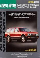 Chevrolet Blazer, Jimmy, Typhoon, and Bravada, 1983-93 by NP-Chilton Editors...