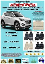 Hyundai Tucson All Year Genuine Sheepskin Car Seat Covers Pr 22MM TC Airbag Safe