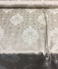 Fabricut Damask Excellent Beige Linen color Fabric By the yard